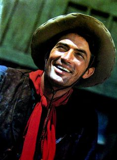 """Gregory Peck in """"Duel in the Sun"""" (1946)"""