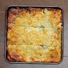 Cheesy Ham Potato Bake! Dinner goals!  vc: @twisted_food  Snapchat : foodyfetish