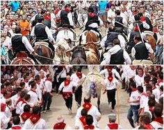Las dos mejores fiestas de España 2014 unidas por el caballo