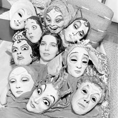"Margaret Severn, ""Mask Dances."" The one in the middle is looking right at me."