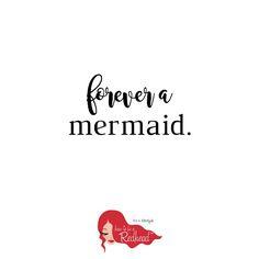 Redhead: a forever mermaid