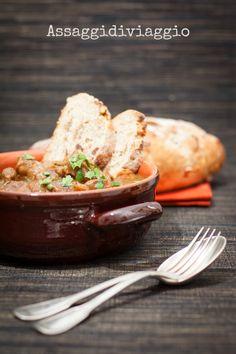 Carbonade flamande con pane integrale di segale con datteri e noci #carne #secondo #food