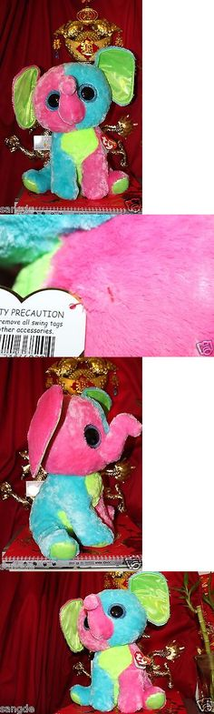 Current 1628: Ty Beanie Boos Jumbo Elfie The Elephant 17 Justice Exclusive.2015 Release.Mwnmt -> BUY IT NOW ONLY: $90 on eBay!