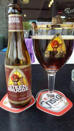 Steenbrugge Dubbel, Palm Brewery ( Steenhuffel, Belgium )  Brown 6,5% Brewery, Beer Bottle, Belgium, Palm, Drinks, Food, Drinking, Beverages, Eten