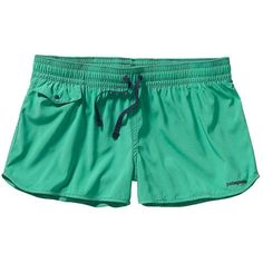 Patagonia Women's Light and Variable Board Short (76 NZD) ❤ liked on Polyvore featuring activewear, activewear shorts, aqua stone, patagonia and patagonia sportswear