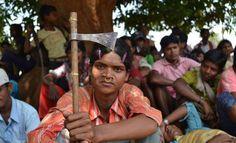 Dongria Kondh protest