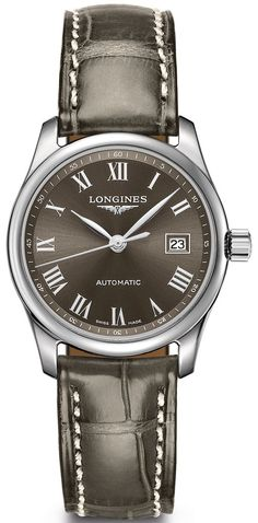 @longineswatches Master Collection #add-content #basel-17 #bezel-fixed #bracelet-strap-alligator #case-material-steel #case-width-29mm #date-yes #delivery-timescale-call-us #dial-colour-brown #gender-ladies #l22574713 #luxury #movement-automatic #new-product-yes #official-stockist-for-longines-watches #packaging-longines-watch-packaging #price-on-application #style-dress #subcat-master-collection #supplier-model-no-l2-257-4-71-3 #warranty-longines-official-2-year-guarantee #wat...