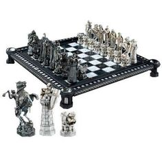 one of my favorite discoveries at harry potter final challenge chess set
