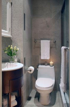 6 DESIGN TIPS TO MAKE A SMALL BATHROOM BETTER http://maisonvalentina.net/blog/6-design-tips-to-make-a-small-bathroom-better/ #smallbathroom #bathroomideas #bathroomdesign #luxurybathroom