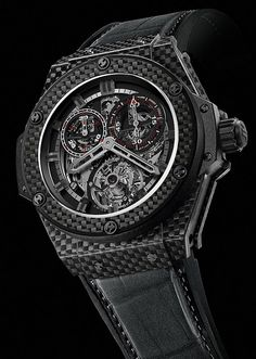Hublot King Power Carbon Fiber Cathedral watch