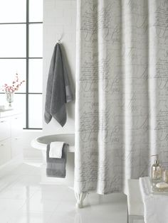 Captivating New Shower Curtain For The Guest Bathroom
