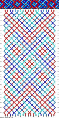 20 strings, 40 rows, 7 colors
