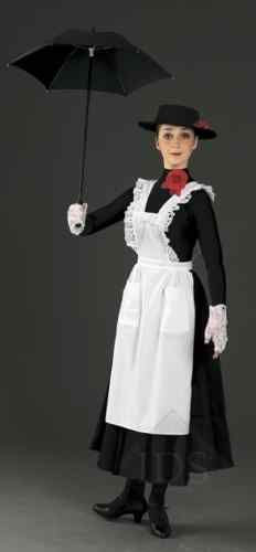 WHITE PINAFORE APRON MARY POPPINS MAID FANCY DRESS Maid Fancy Dress, Disney Fancy Dress, Holiday Costumes, Disney Costumes, Halloween Costumes, World Book Day Costumes, Pinafore Apron, Black White Red, New Dress