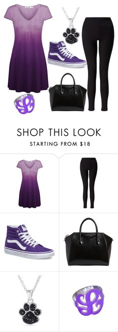 """""""on day at a time"""" by newilliams-i ❤ liked on Polyvore featuring Miss Selfridge, Vans, Givenchy, Belk Silverworks and Max & Chloe"""