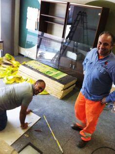 #workers Lavoratori di Agridea al lavoro negli uffici nuovi http://www.coopagridea.org/