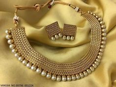 Details about Indian Bollywood New Necklace Set Ethnic Gold Pated Traditional Necklace Set - Picture 2 of 2 - Fancy Jewellery, Gold Jewellery Design, Stylish Jewelry, Modern Jewelry, Fashion Jewelry, Silver Jewellery, Designer Jewellery, Oxidised Jewellery, Silver Bracelets