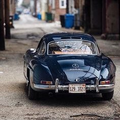 """2,708 Likes, 19 Comments - @classiccarvoyage on Instagram: """"Ferrari or Mercedes? #DriveVintage #250PF #190SL"""""""
