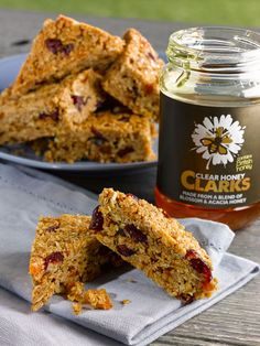 Impress the family with this delicious honey, cranberry and apricot flapjack recipe from Clarks