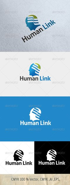 Logo for SALE SALE just 29$ !!!! hurry.......Human Link Logo Template