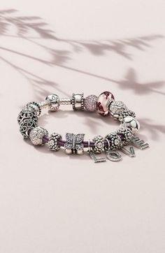 Personalize a Pandora bracelet