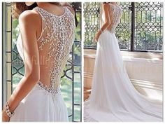 2014 lace back wedding dress / lace bridal by BeautifulLifeDress, $159.99