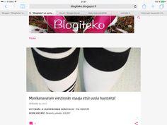 """Blogikirjoitus (Avoin hakemus) """"Monikanavaisen osaaja etsii uusia haasteita"""""""