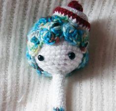Mici die Meerjungfrau kann schreiben von Gebastelt auf DaWanda.com