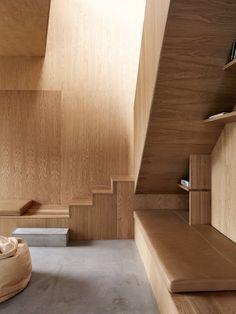 | WOOD + DETAILS | Photo Credit:  #WienbergArchitects. Timeless, warm yet uniform. #wood meets #concrete