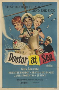 Doctor at Sea (1955) - Ralph Thomas [watched April 22, 2012]