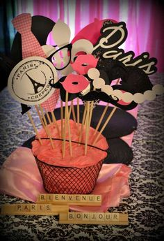 Paris Party Birthday Party Ideas | Photo 3 of 45 | Catch My Party
