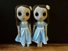 Handmade Dolls The Grady Twins