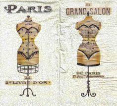 Zvětšit fotografii - Ubrousek 33 x 40 cm GRAND SALON PAŘÍŽ