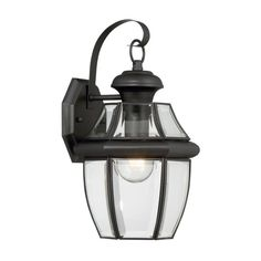 Portfolio Brayden 14.13-in H Mystic Black Outdoor Wall Light  $50  ******Exact Match to Side Door Light