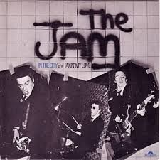 "Reseña disco ""In the city"", primer single de THE JAM. Rock & Pop, Rock N Roll, Woody, The Ventures, Uk Charts, 70s Punk, Paul Weller, Music Is My Escape, Album Design"