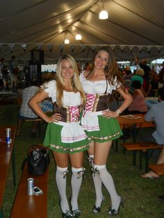 Lovely ladies from #PrincessPromotions! #LasOlasOktoberfest