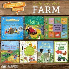 Life on the Farm with Usborne Books.   http://d5311.myubam.com/ #books #usborne #children #reading #youngminds #literature #homeschool  #readingprograms #childrenbooks #adultcoloring #activity #education