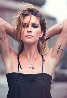 Rock 'n' Roll Style ✯ Erin Wasson by David Bellemere for Marie Claire Italia October 2014