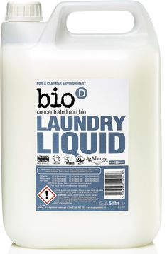 Bio D Concentrated Non-Bio Laundry Liquid - - 125 Washes - Bio D Sodium Citrate, Vegan Society, Edible Plants, Fruit And Veg, Raw Materials, Plant Based, Laundry, This Or That Questions, Zero Waste