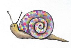 """Snail """"Contained""""by BeeDazzles, via Flickr"""
