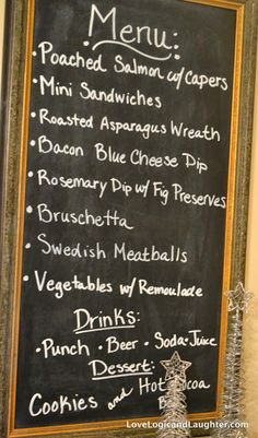 Planning A Holiday Open House? Need A Menu With Recipes. This Is For You!    The Gift Of A Meal   Pinterest   Open House, Menu And Holidays