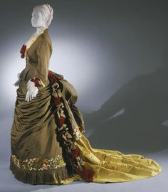 Dress    Charles Fredrick Worth, 1875