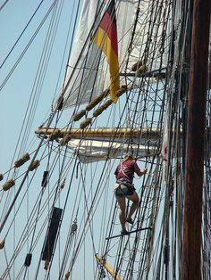 tall ship adventures