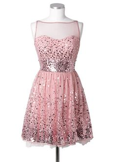 dELiAs > Sequin Mesh Dress- pretty