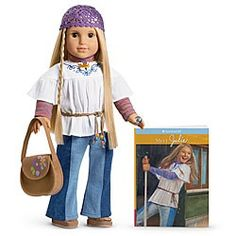 """American Girl dolls.  """"Julie"""", I gave this one to my granddaughter"""