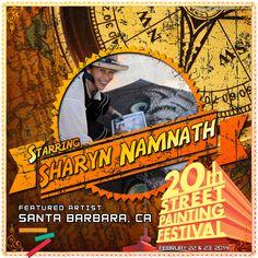 Sharyn Chan Namnath  http://streetpaintingfestivalinc.org/index.php/artists/featured-artists/54-sharyn_namnath