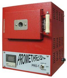 Prometheus Pro-1 Kiln for firing metal clays, enamels, glass and ceramics