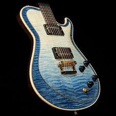 Knaggs Guitars Kenai T2 Double Purf in Faded Blue