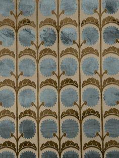 Vervain Vivienne Velour Mosaic Blue 5015103