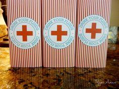 Dr. Nurse Party Package - DIY Printable PDF File. $38.00, via Etsy.