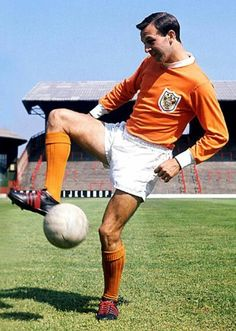 Blackpool Football Club Legend Jimmy Armfield.